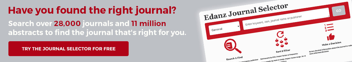 Have you found the right journal? Try the Journal Selector for free